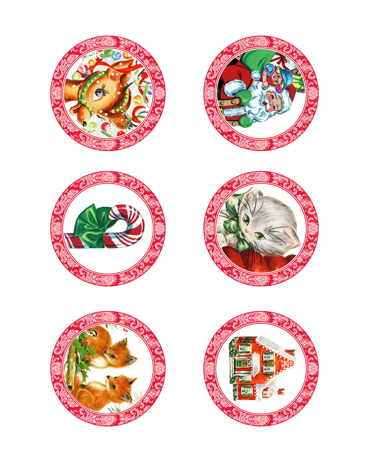 Printable Candy Jar Labels For The Holidays