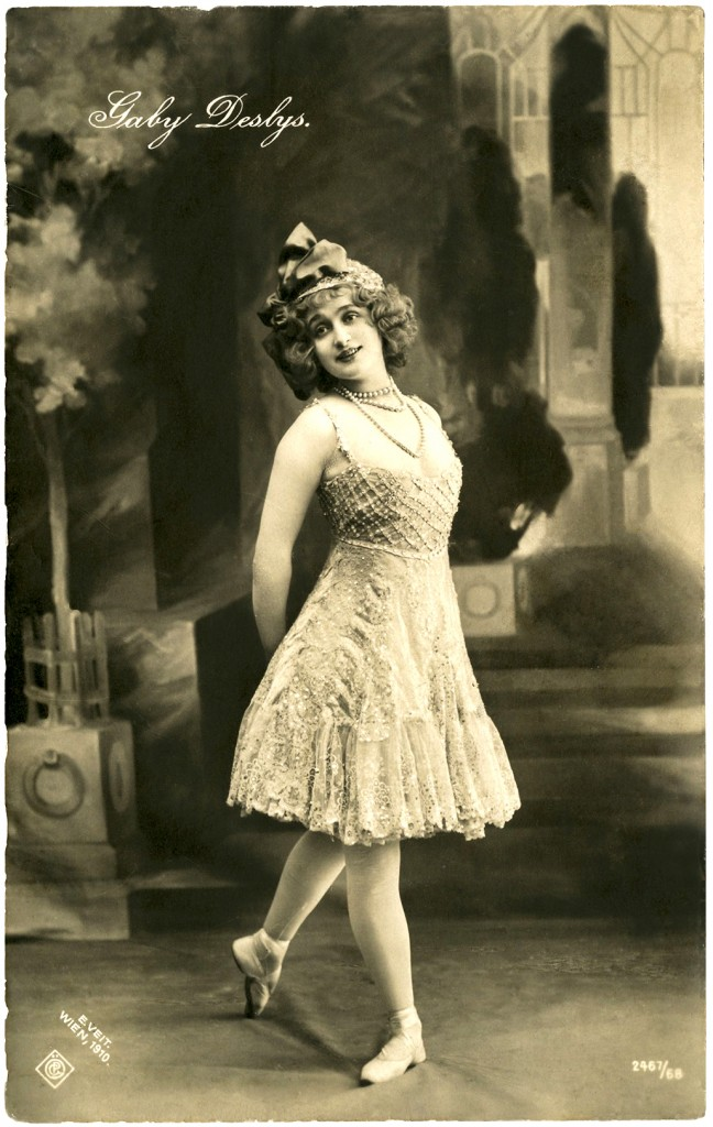 Vintage Ballerina Photo French The Graphics Fairy