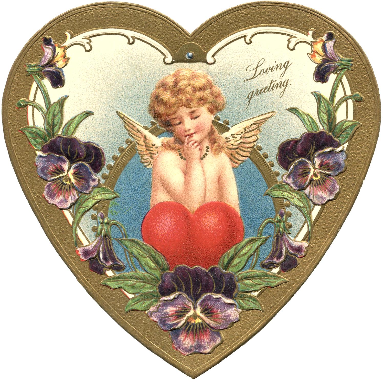 Victorian Valentine Image The Graphics Fairy