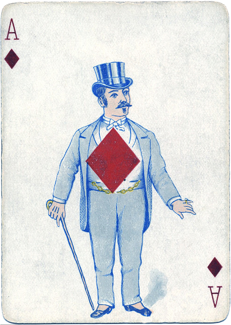 Antique Playing Card Images The Graphics Fairy