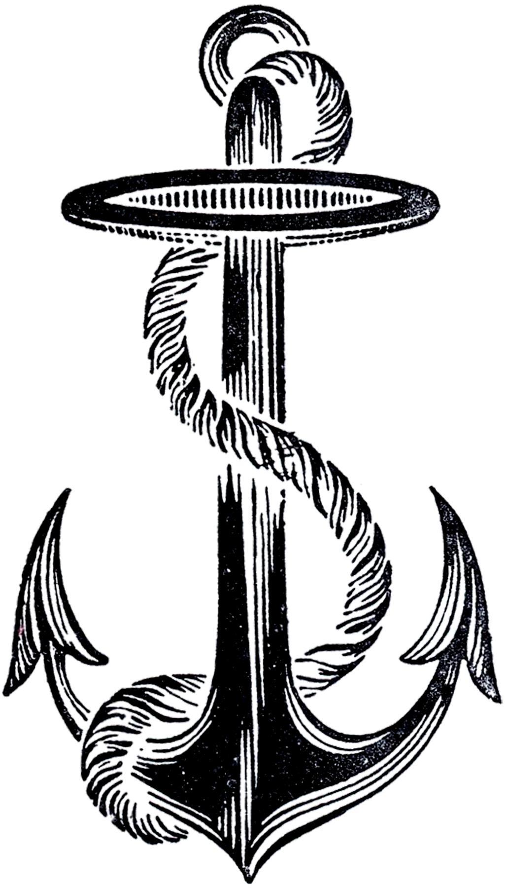 Best Vintage Anchor Image