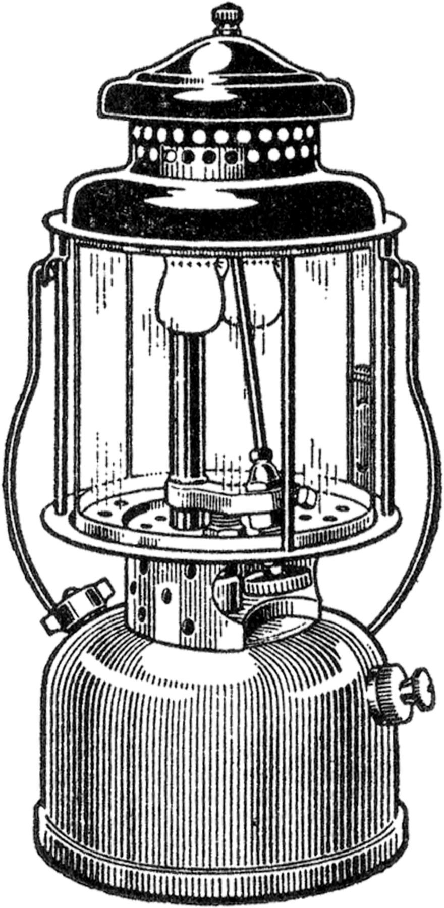 Rustic Clip Lantern Art