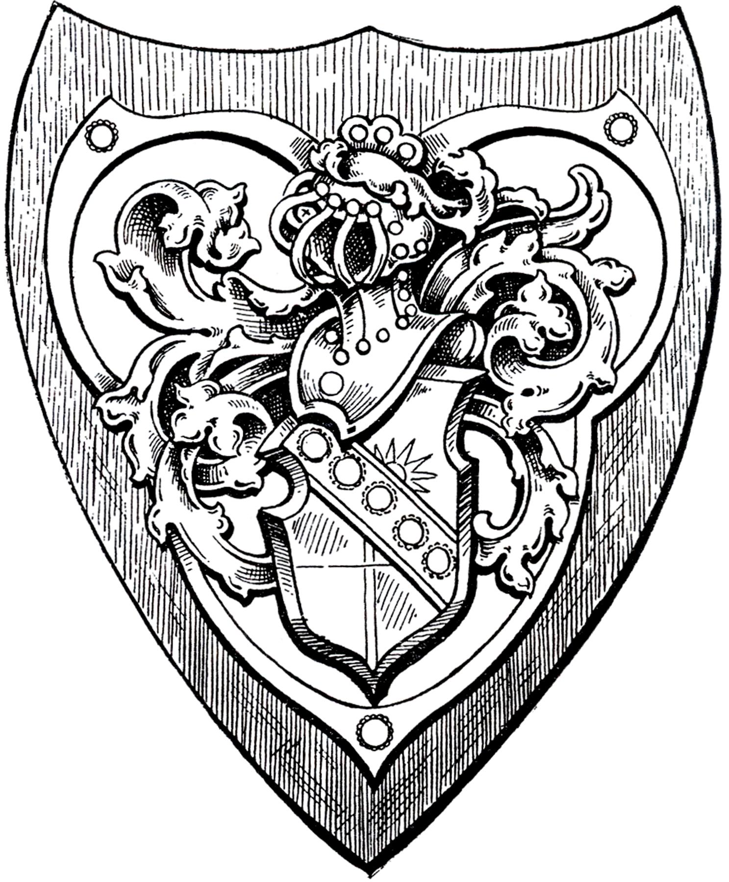 Vintage Shield Armor Image