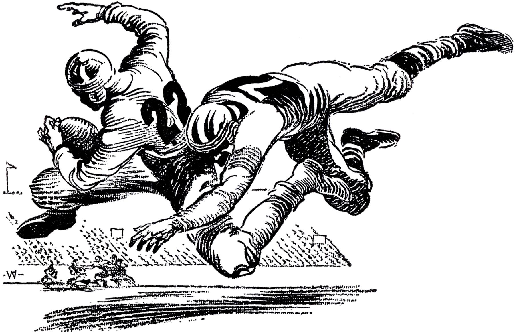 Vintage Football Image