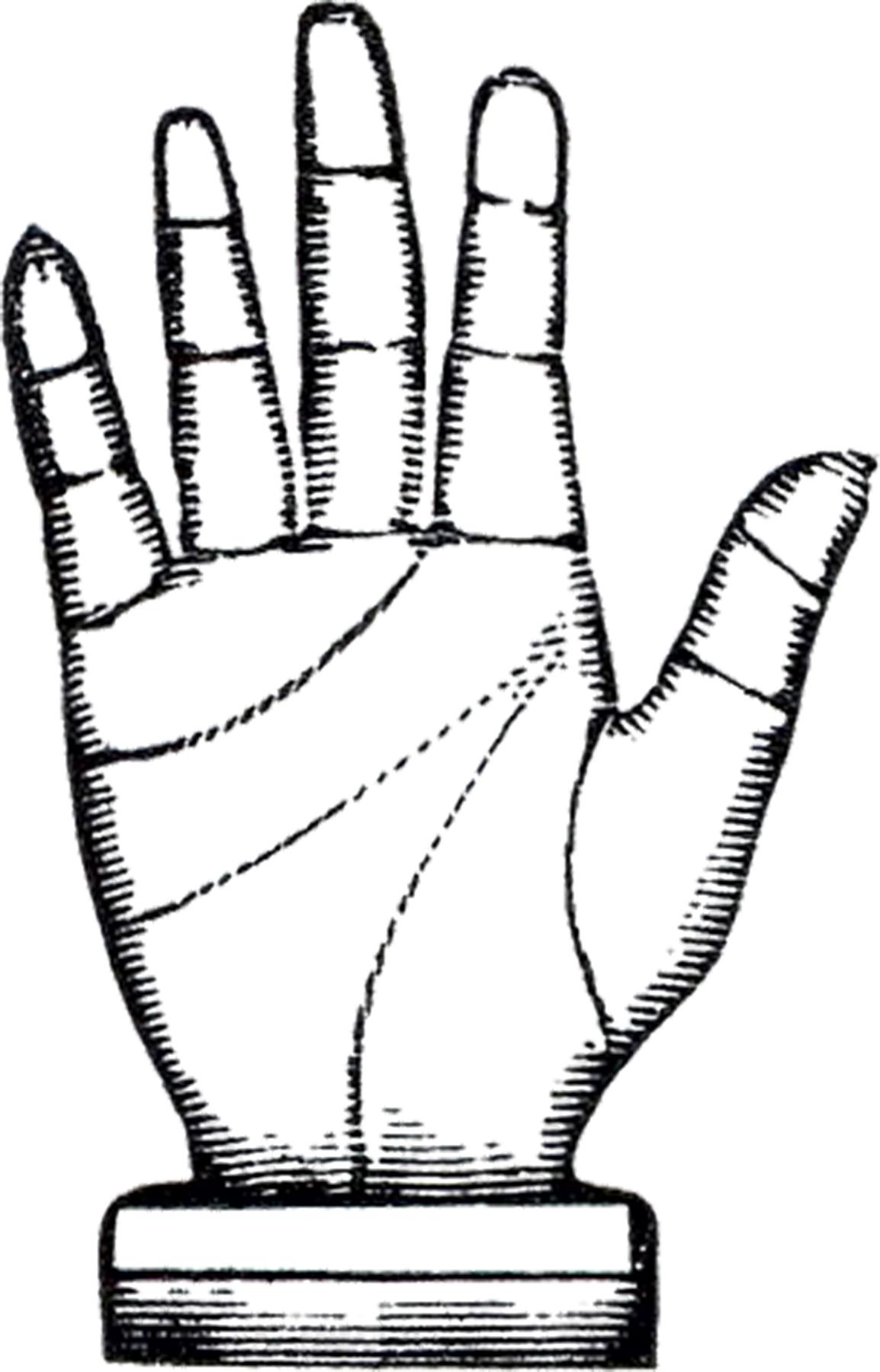 Vintage Steampunk Hand Image