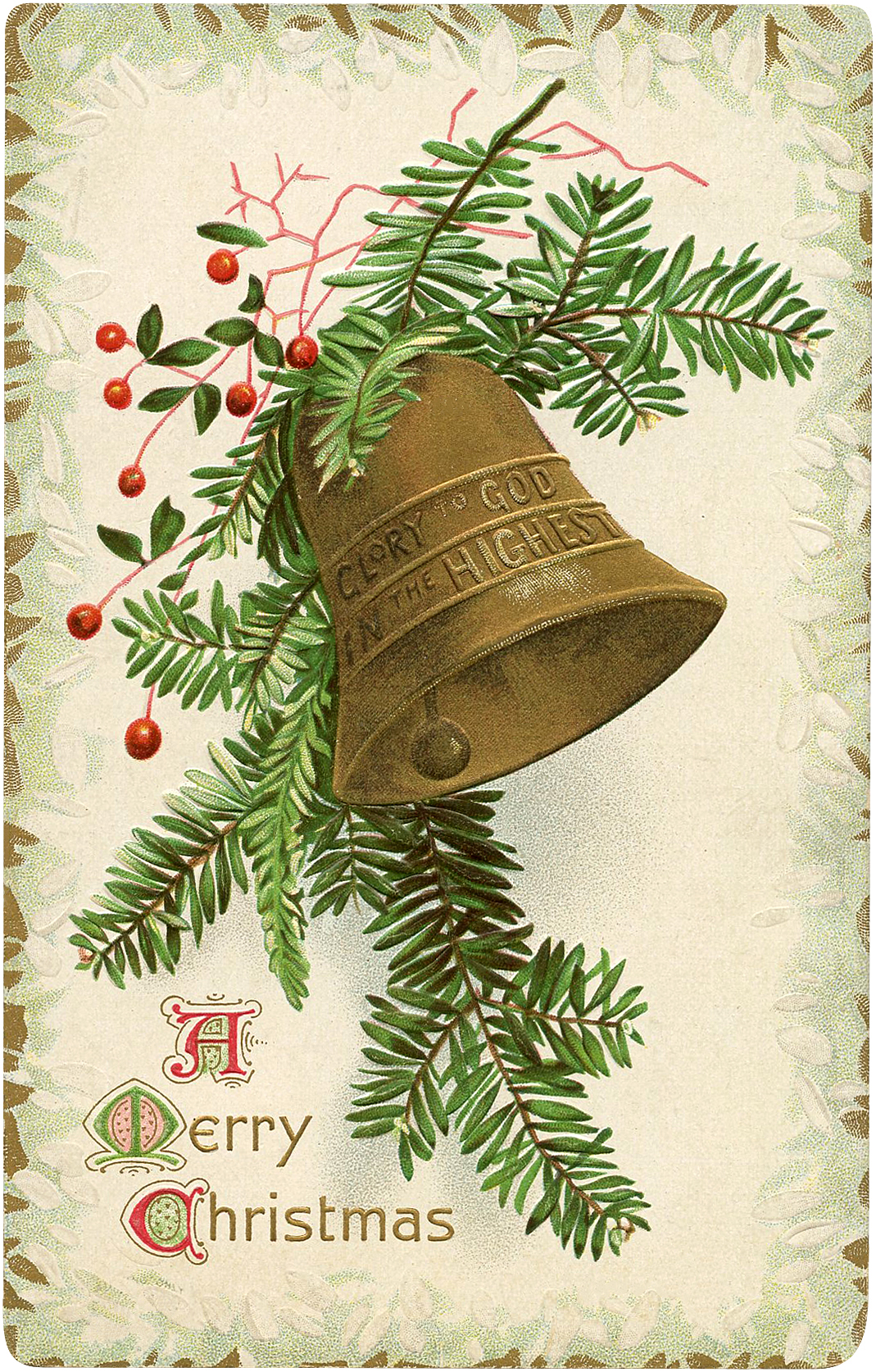 4 Christmas Bell Images The Graphics Fairy