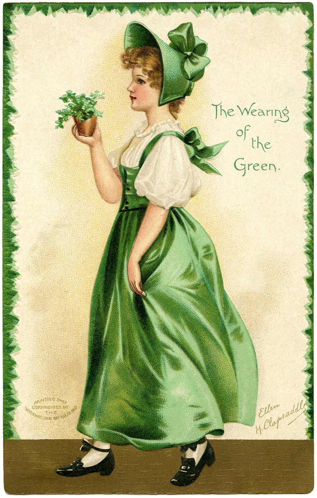 16 St Patricks Day Clip Art Ladies Updated The Graphics Fairy