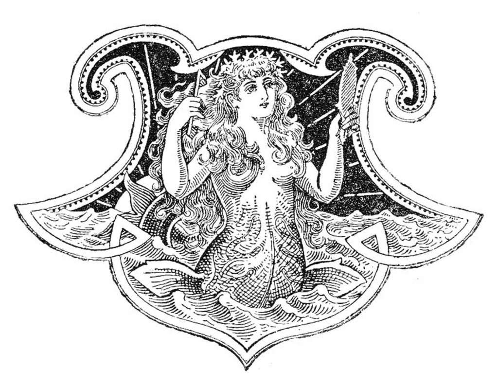 10 Mermaid Clip Art Images