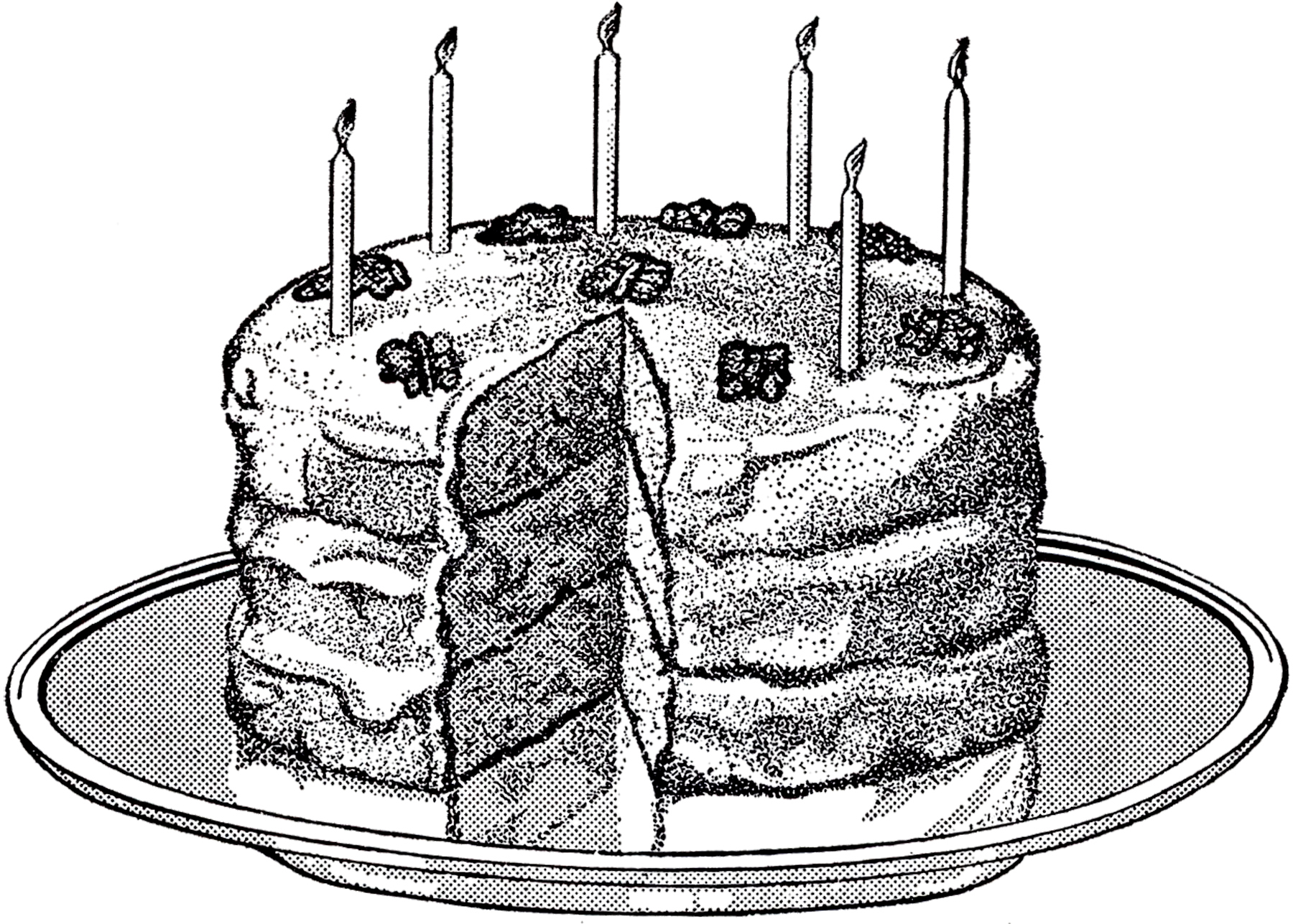 6 Birthday Cake Images