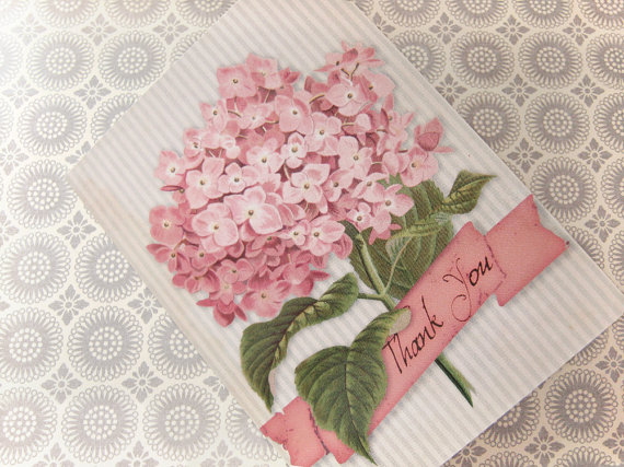 Brag Monday Hydrangea Card And French Inspired Buckets