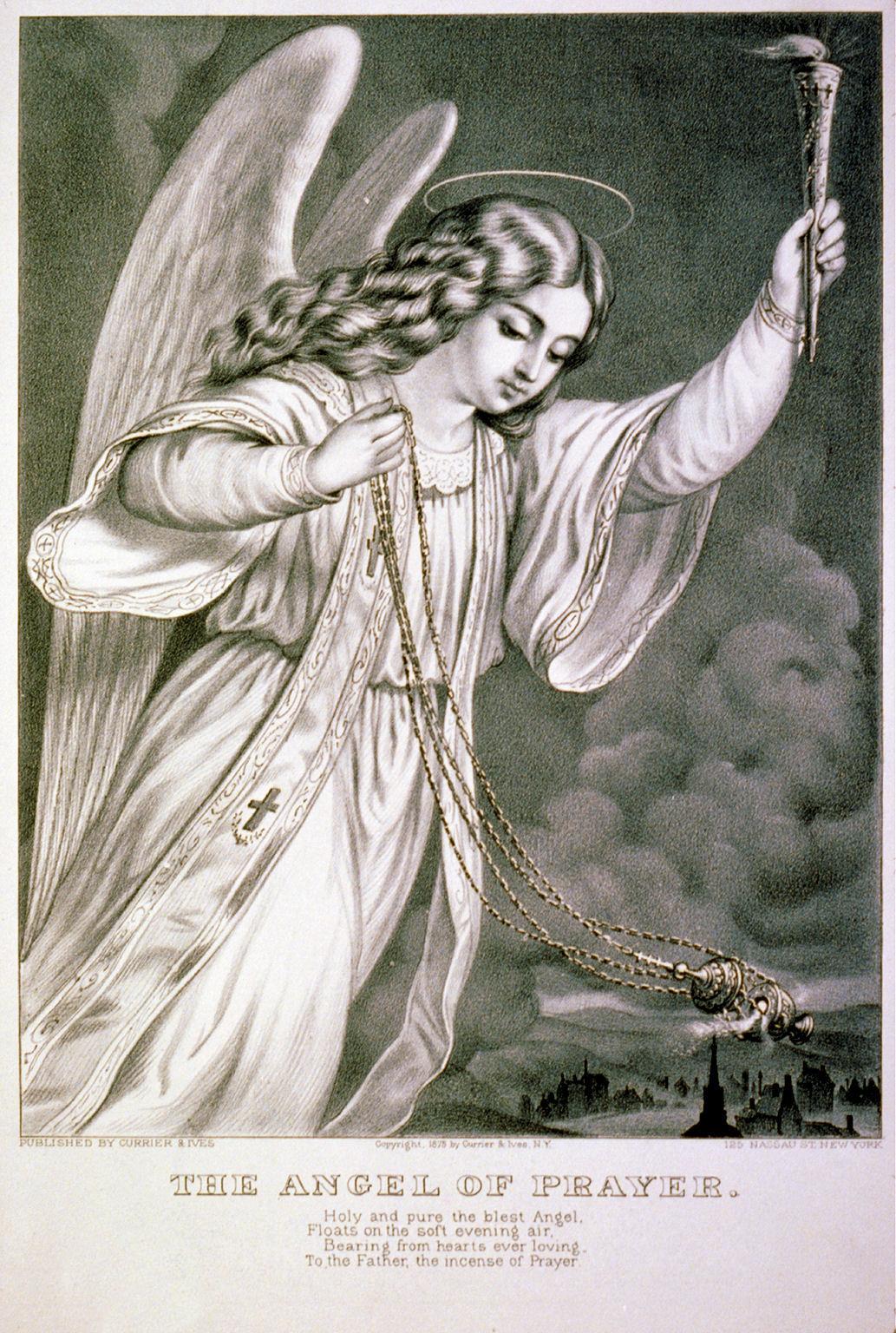 Free Vintage Clip Art Angel Print The Graphics Fairy