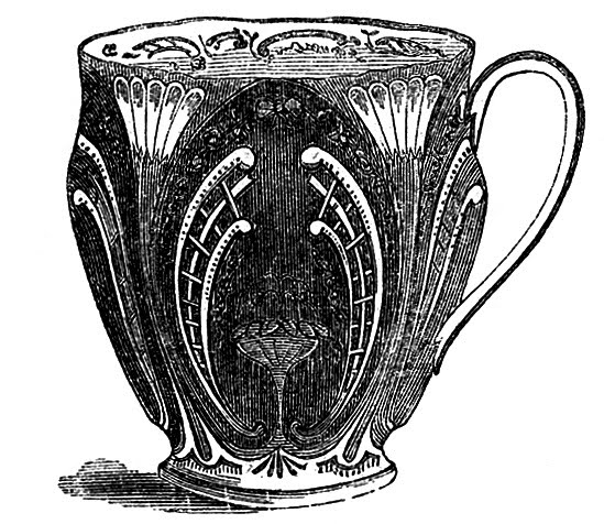Vintage Tea Clip Art Fancy Teacups The Graphics Fairy