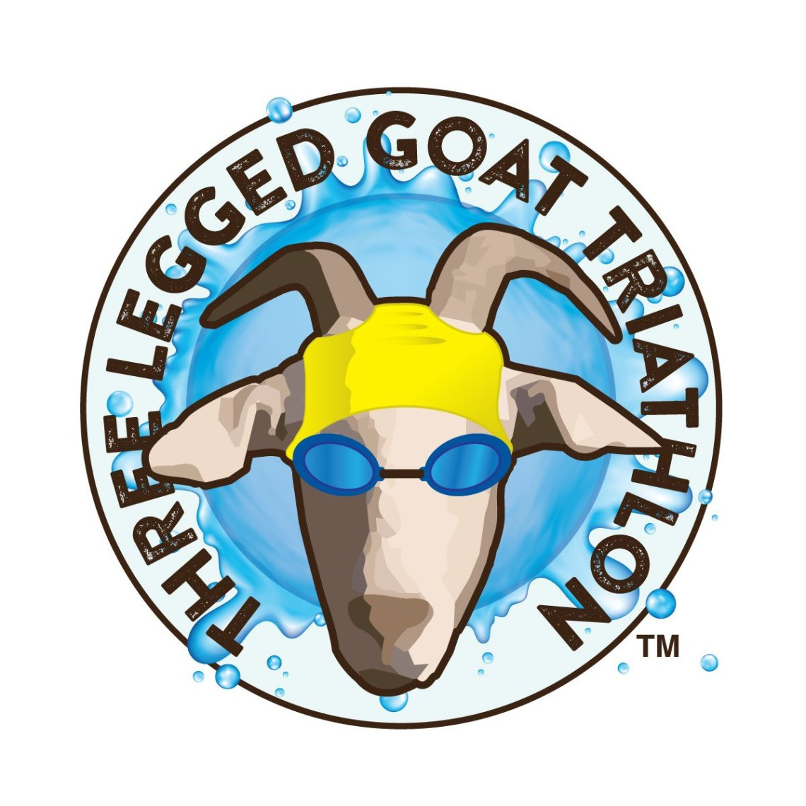 Three legged Goat Triathlon Logo