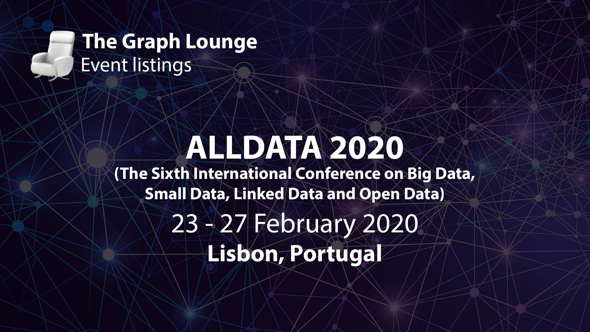 ALLDATA 2020 (The Sixth International Conference on Big Data, Small Data, Linked Data and Open Data)