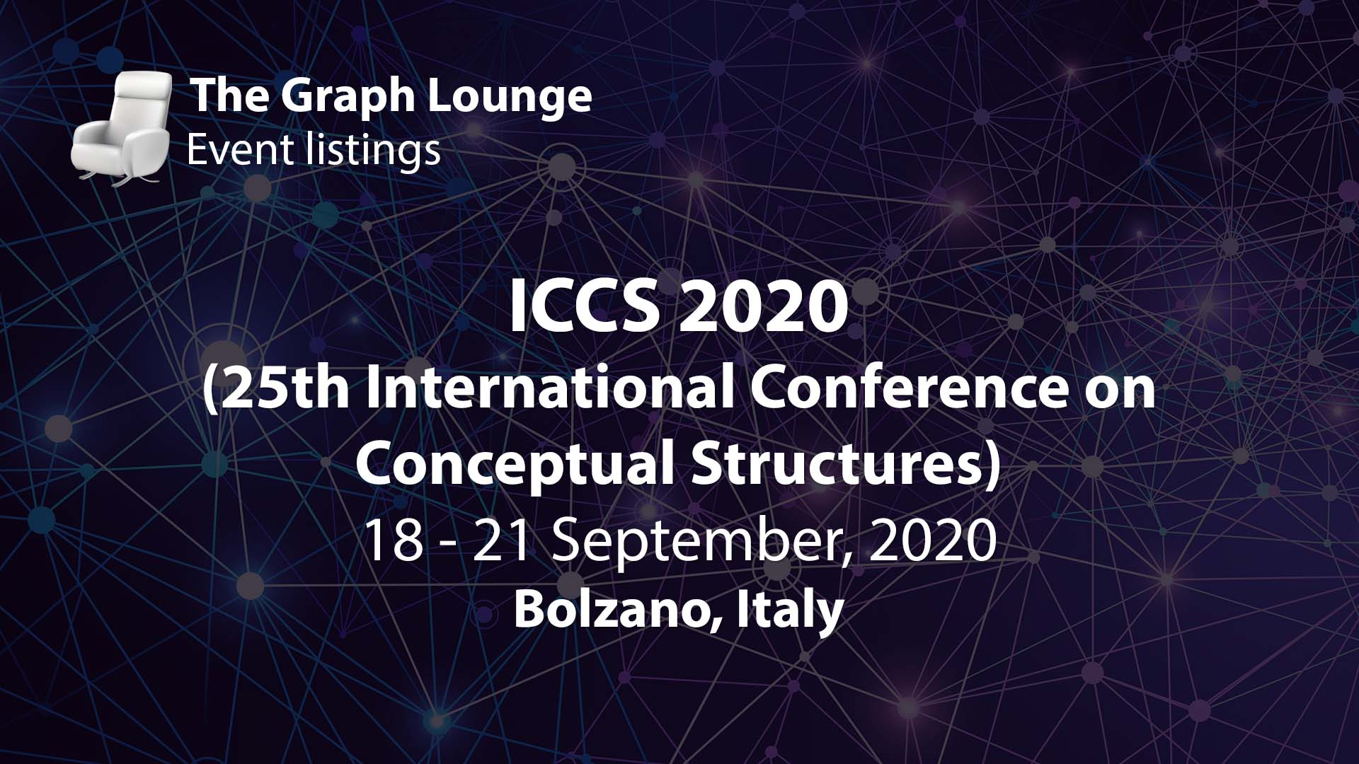 ICCS 2020 (25th International Conference on Conceptual Structures)