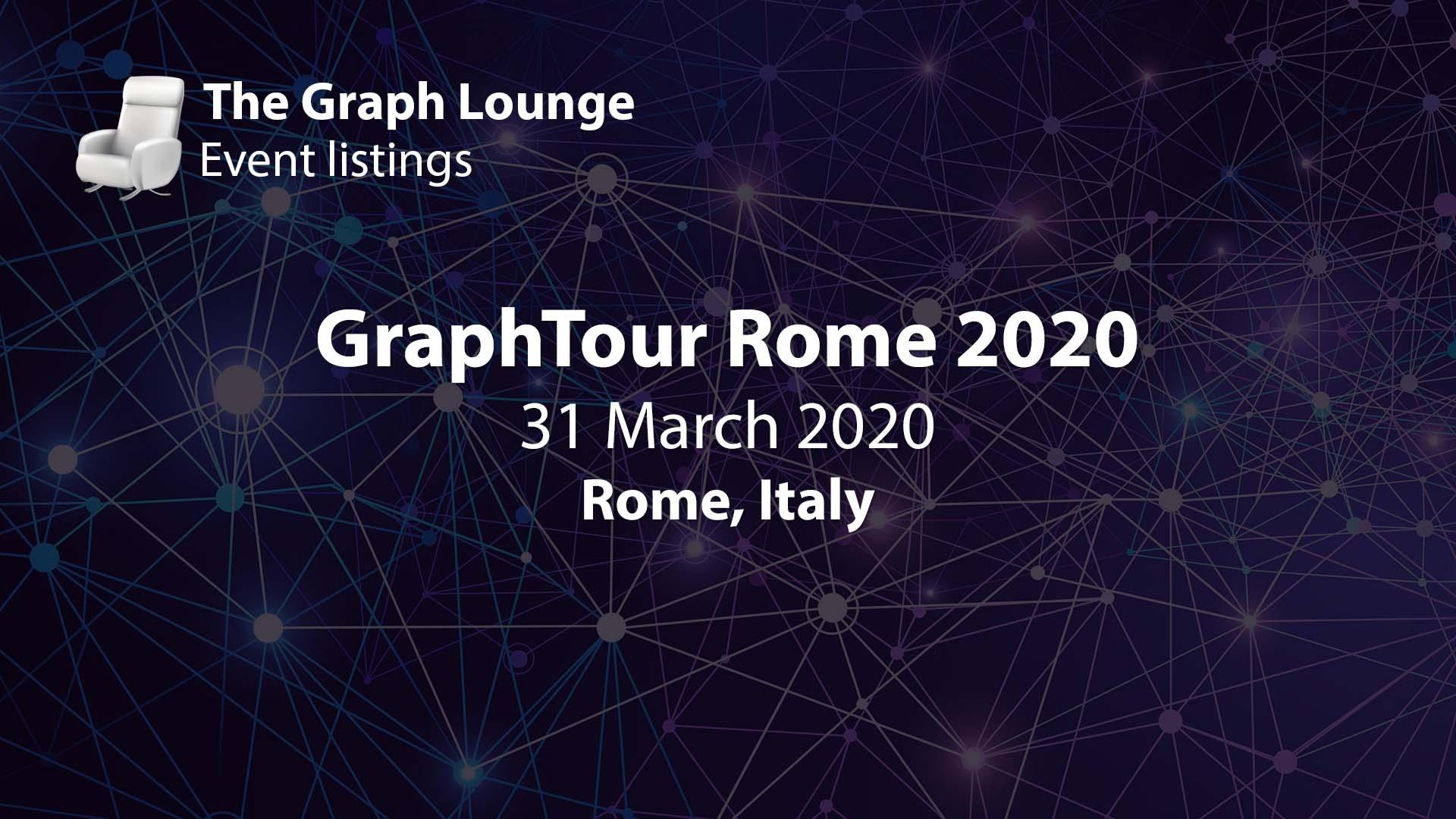 GraphTour Rome 2020