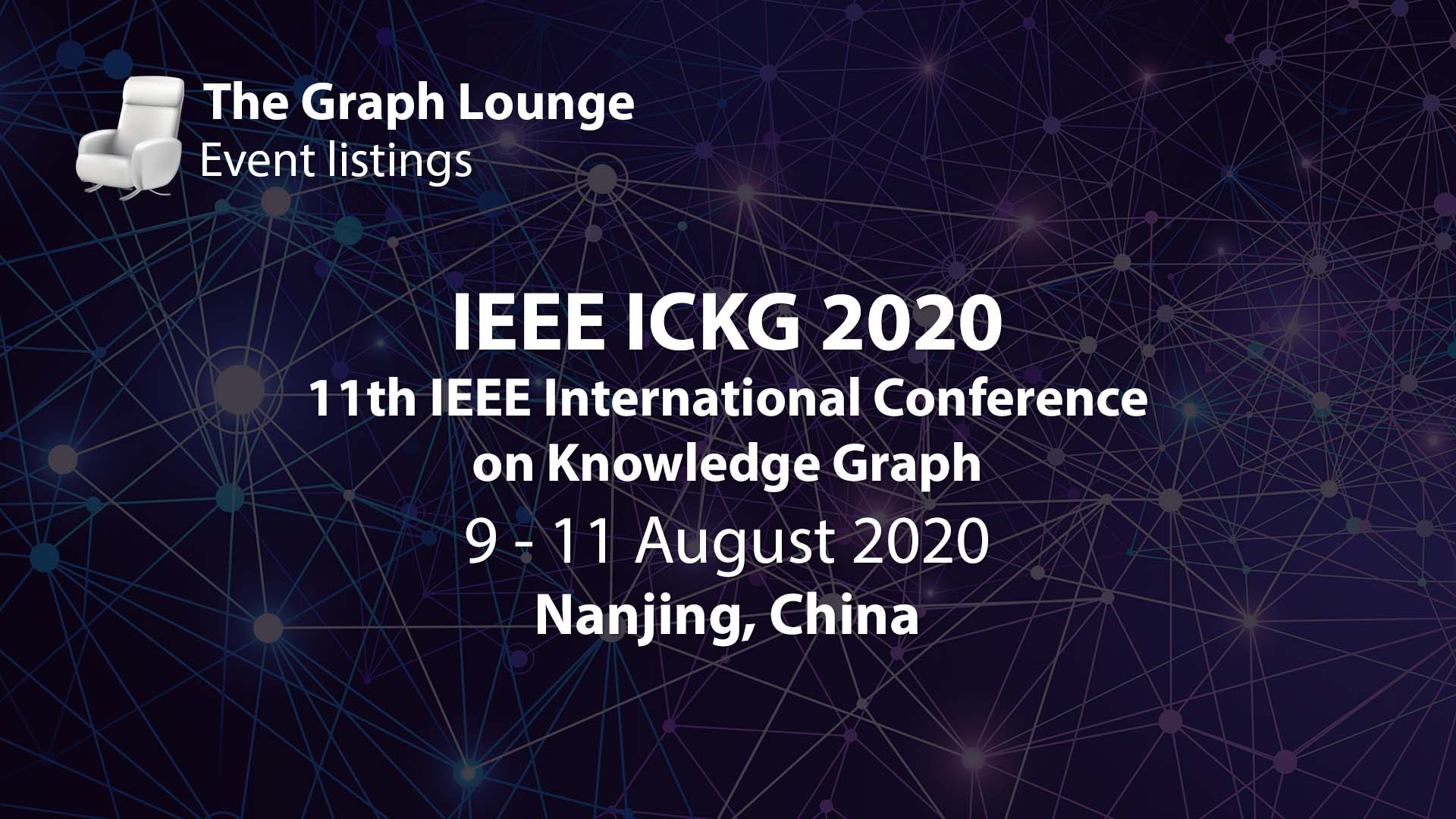 IEEE ICKG 2020 (11th IEEE International Conference on Knowledge Graph)