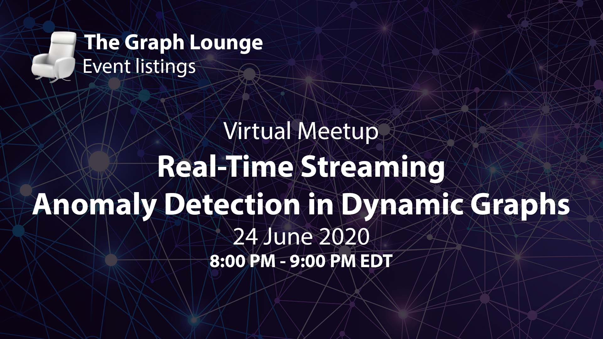 Real-Time Streaming Anomaly Detection in Dynamic Graphs