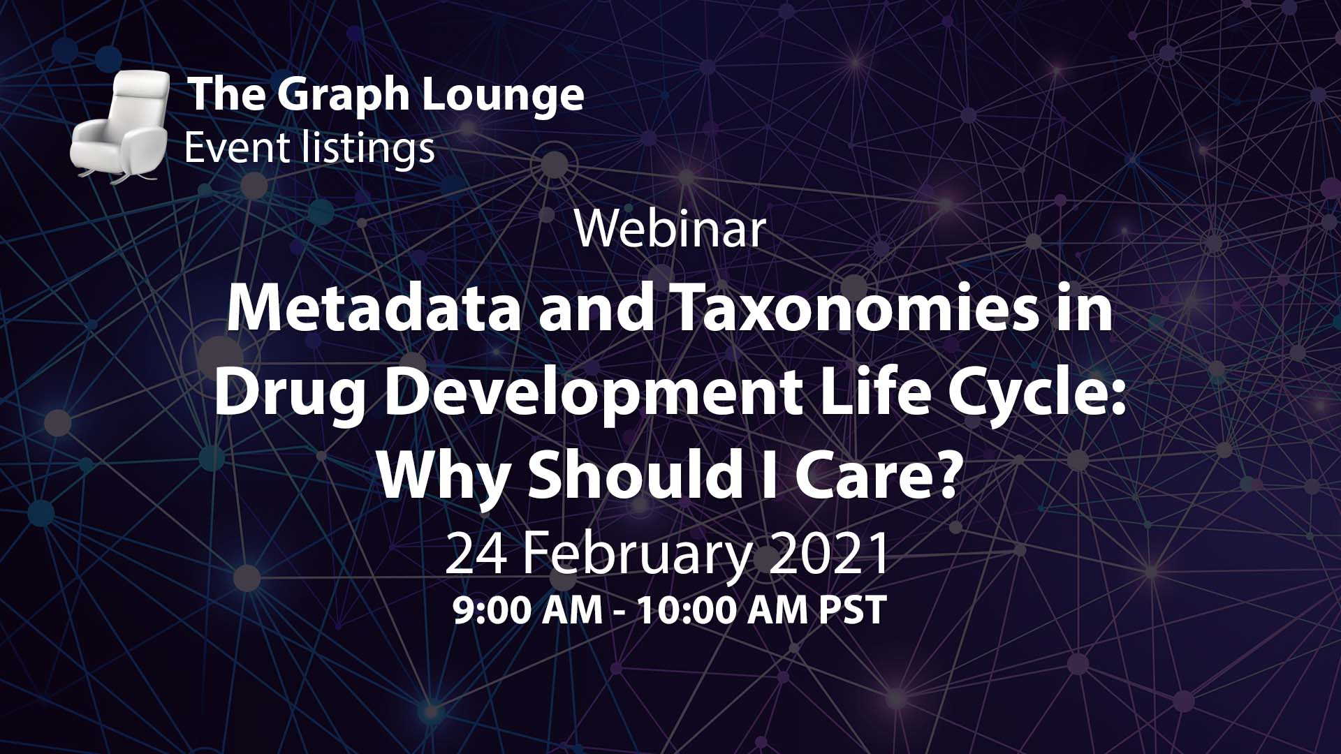 Metadata and Taxonomies in Drug Development Life Cycle: Why Should I Care?