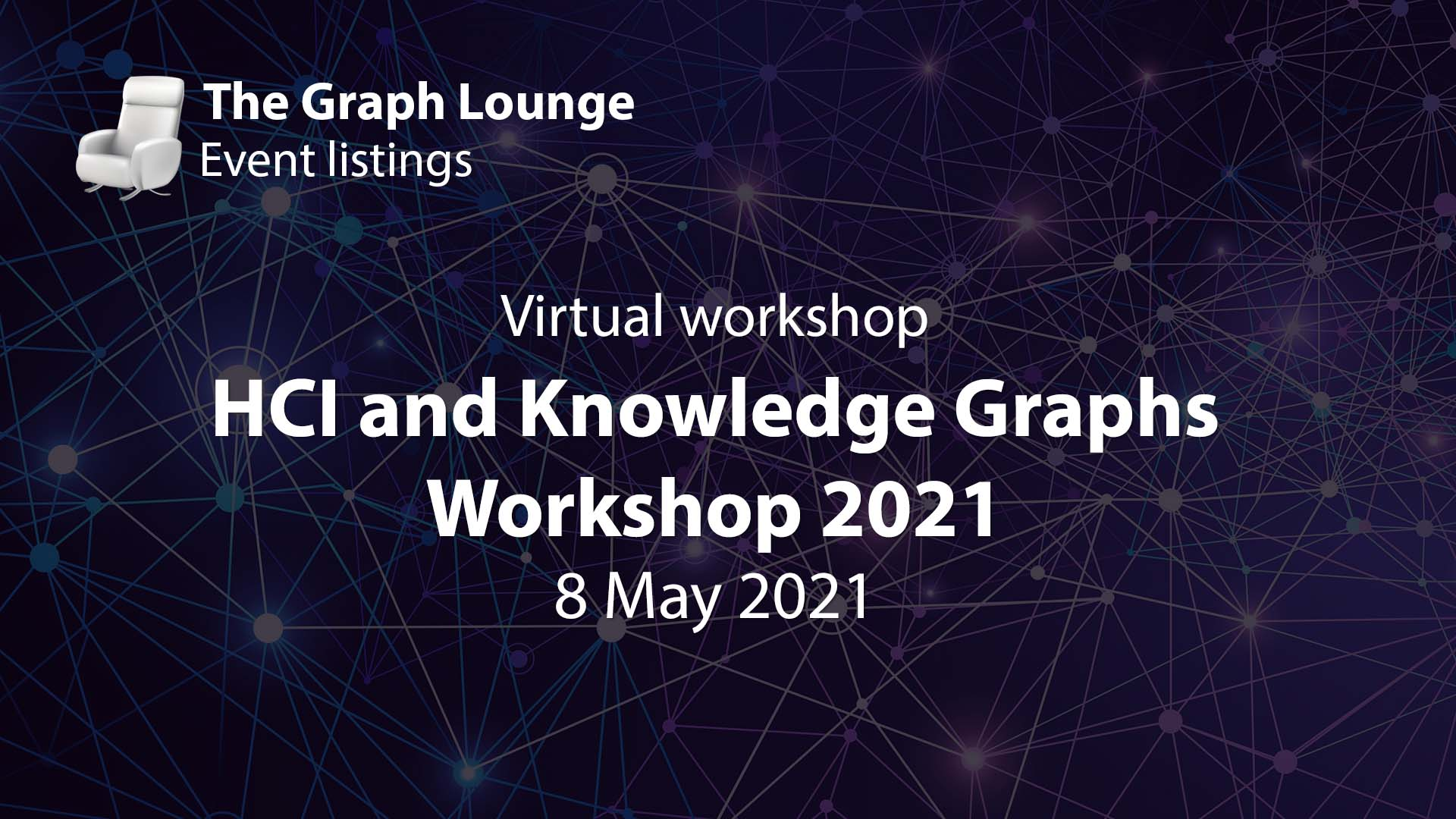 HCI (Human-Computer Interaction) and Knowledge Graphs Workshop 2021