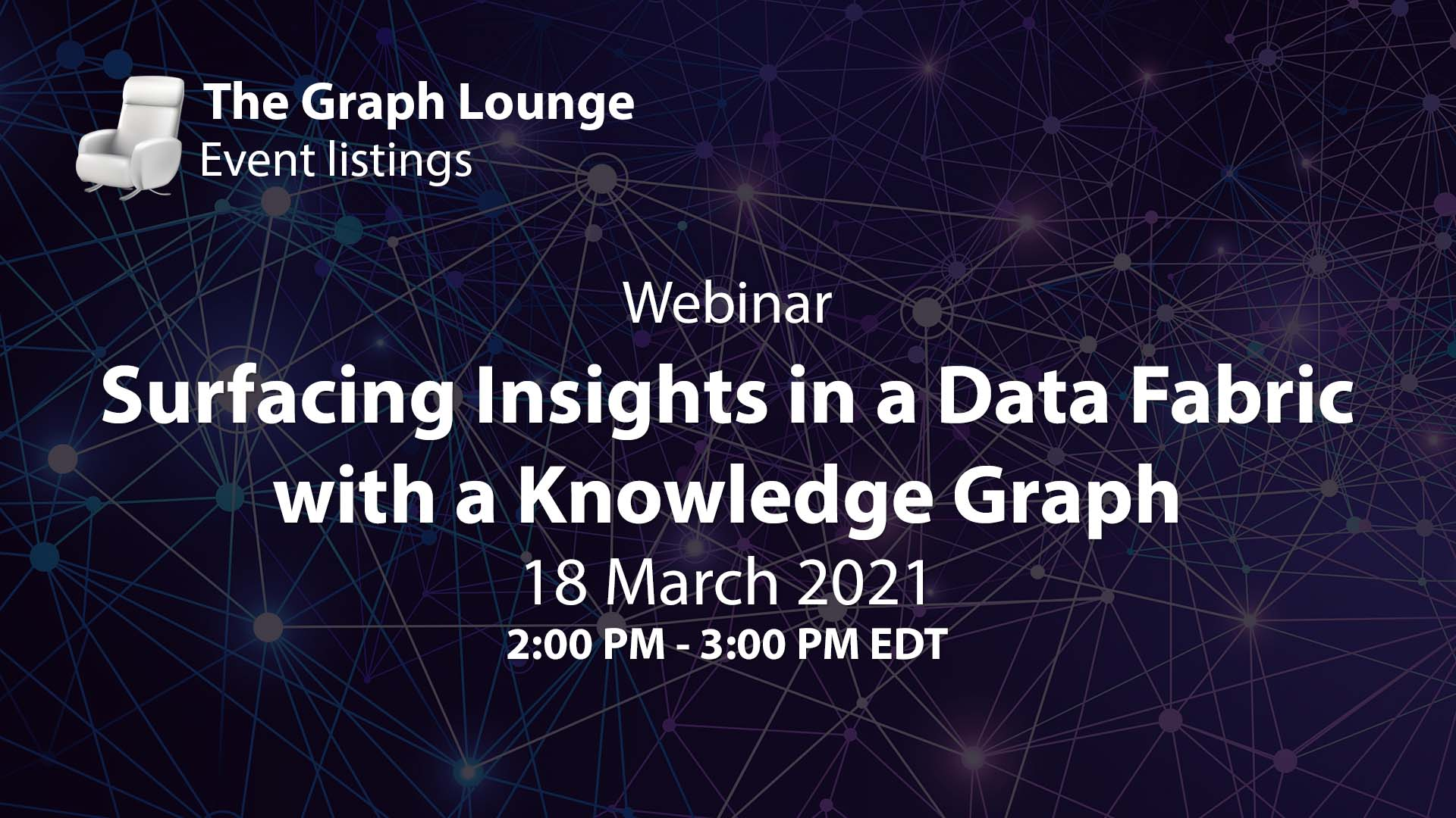 Surfacing Insights in a Data Fabric with a Knowledge Graph