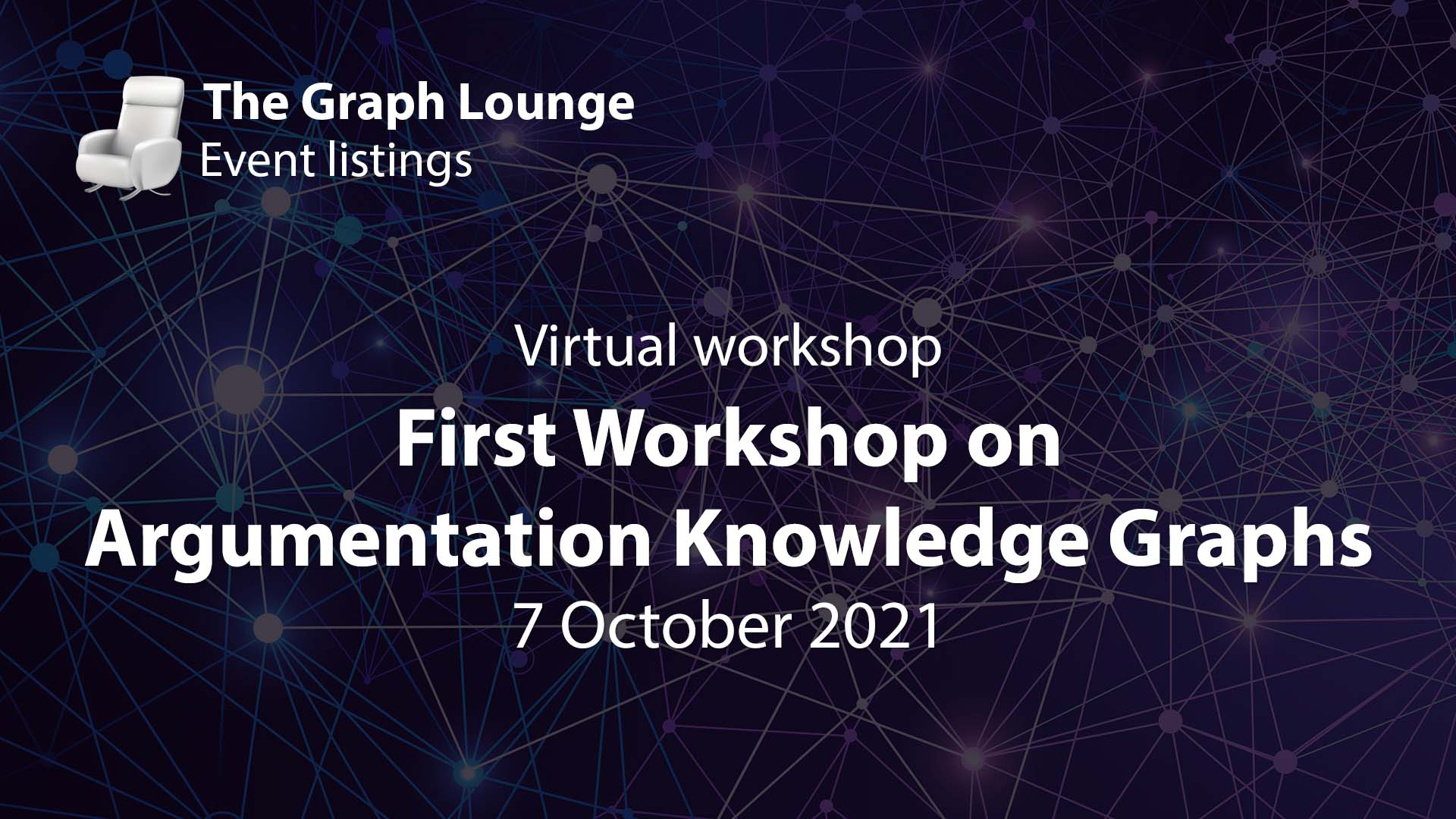 First Workshop on Argumentation Knowledge Graphs