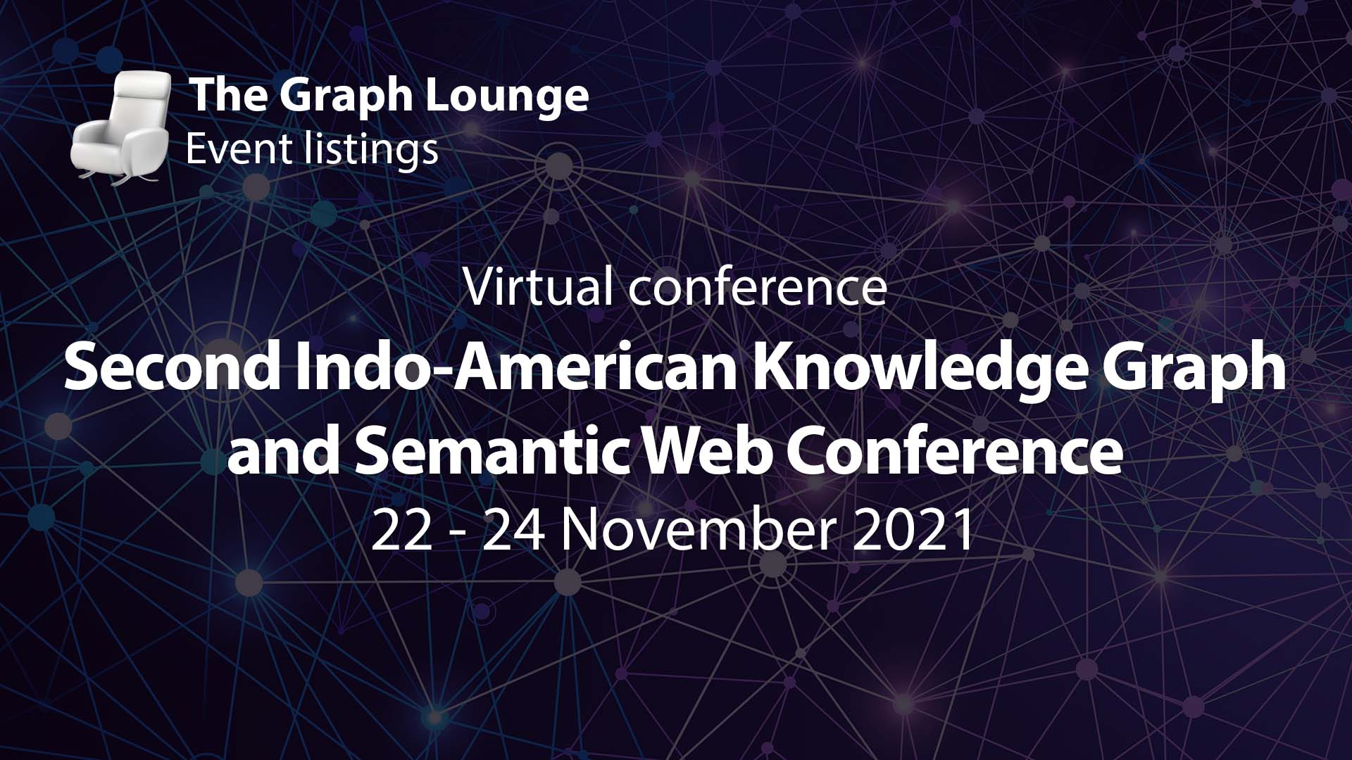 Second Indo-American Knowledge Graph and Semantic Web Conference