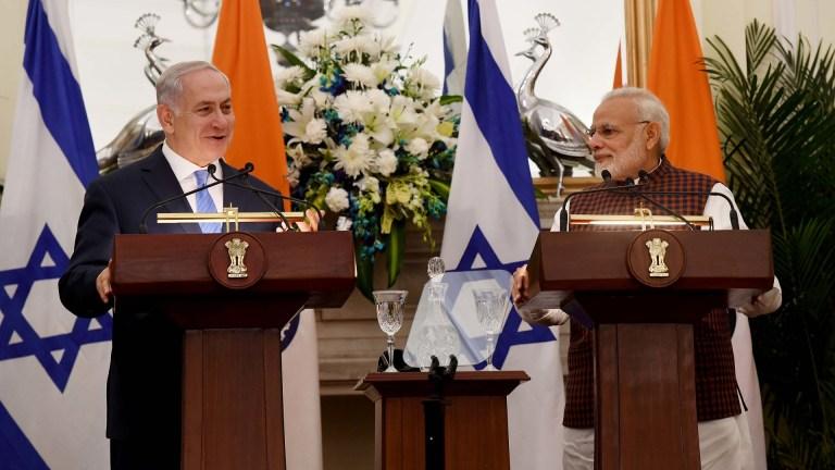 Netanyahu Modi Israel India