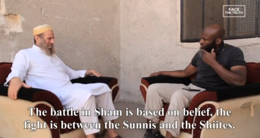 Bilal Abdul Kareem Syria fight between Sunnis Shiites