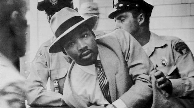 Martin Luther King Jr MLK arrest