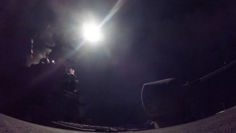 US Trump strike Syria Shayrat