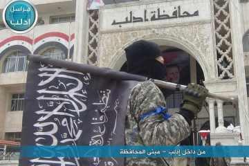 idlib al qaeda flag