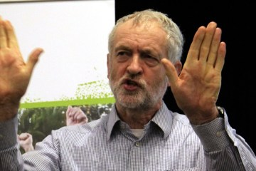 Jeremy Corbyn war on terror