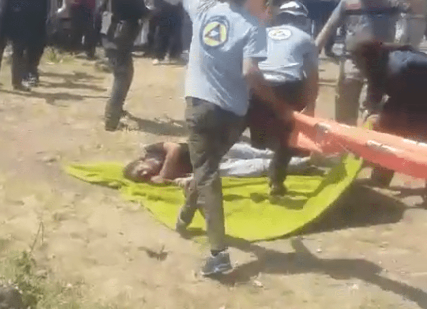 Another video shows US gov-funded White Helmets assisting public executions in rebel-held Syria
