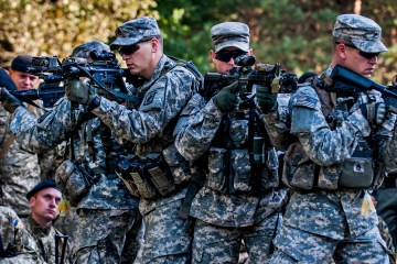 US military training Ukraine