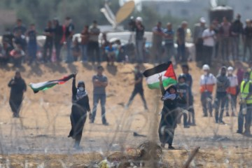 Gaza march Israel massacre every bullet landed