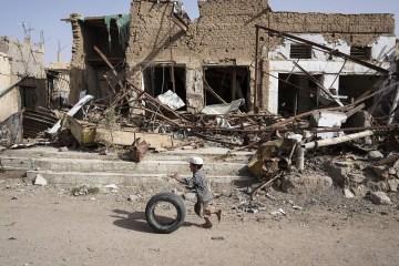 yemen boy tire ocha