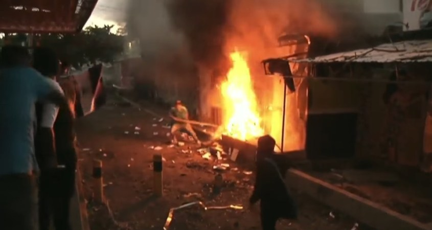 Nicaragua tranque golpe
