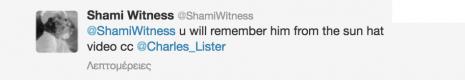 ShamiWitness Charles Lister ISIS hat