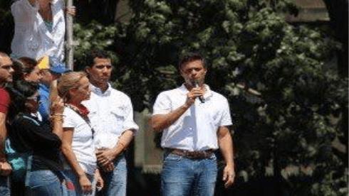 Leopoldo Lopez Juan Guaido 2014 Venezuela