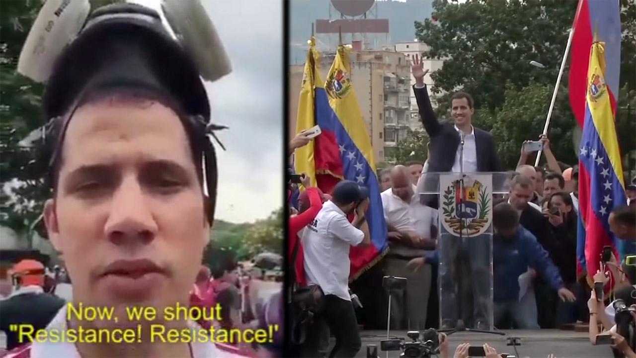 Así fue creado Juan Guaidó: De cómo laboratorios estadounidenses fabricaron al líder del golpe en Venezuela Juan-guaido-us-regime-change-training