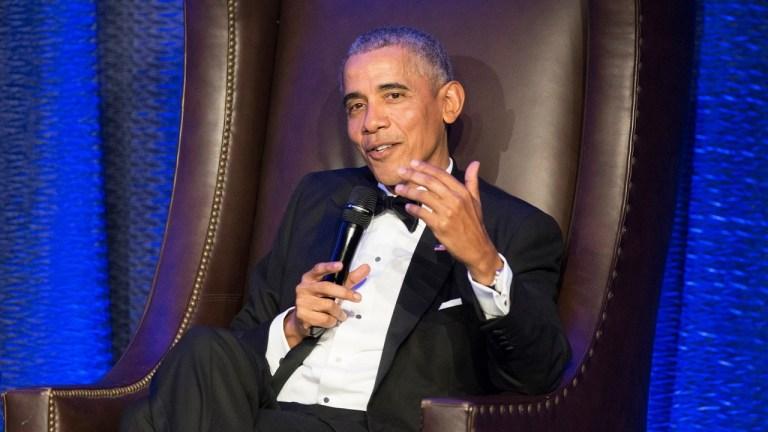 Obama James Baker gala neoliberalism