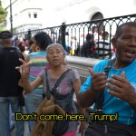 Venezuelan don't come here Trump