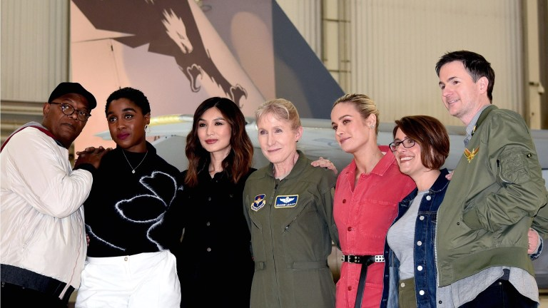Captain Marvel US military