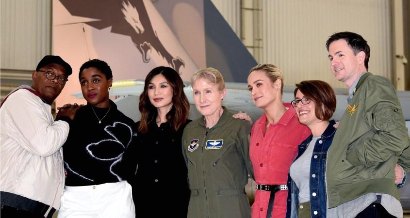 Captain Marvel US military