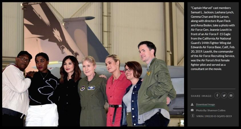 pentagon captain marvel cast