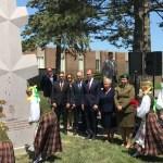 Lithuania monument Adolfas Ramanauskas Vanagas