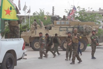 Hasakah YPG SDF US military