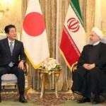 Iran Japan Abe Rouhani