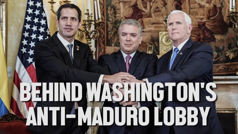 Venezuela coup lobby DC